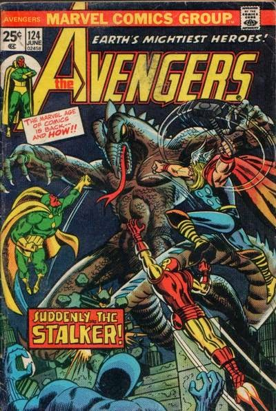 Avengers #124, the Star-Stalker