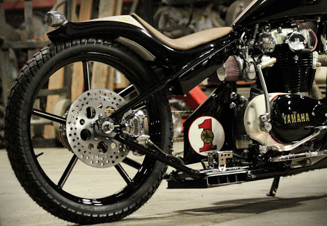 U03df Hell Kustom  U03df  Yamaha Xs650 By M U0026m Customs