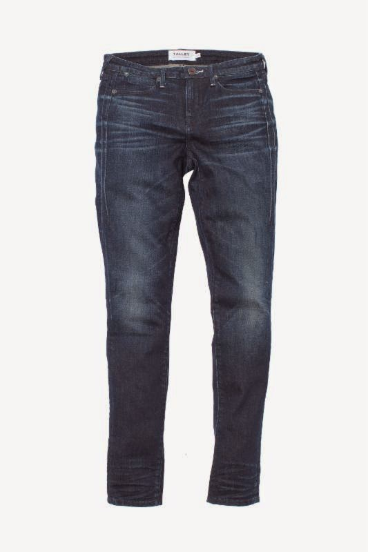 Edison High Rise Ankle Skinny jeans