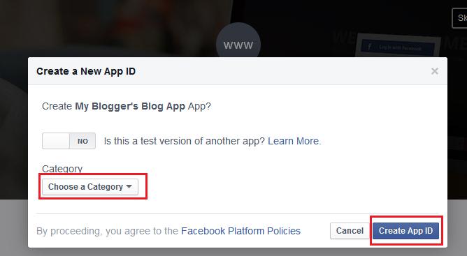 Create-Facebook-App