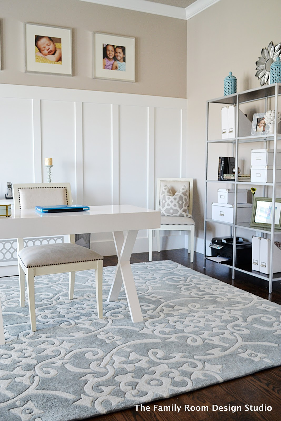 Sita montgomery interiors budget friendly decor - Home office design ideas on a budget ...