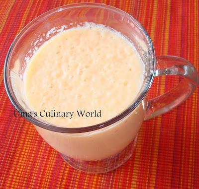 Muskmelon Milk Shake