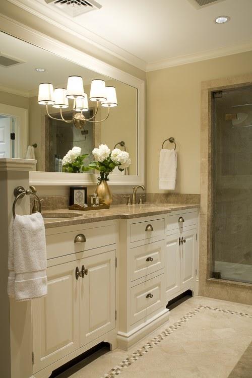 Gorgeous neutral bathroom bath ideas juxtapost for Gorgeous bathrooms