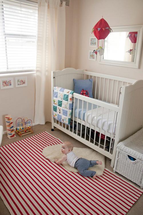 Eu e meu Bebê Quarto de menino detalhe cor de rosa! ~ Tapetes Quarto Bebe Feminino