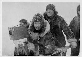 Flaherty grabando Nanuk el esquimal