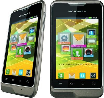Motorola MOTOSMART XT390 Dual-SIM smartphone Android