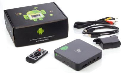 Ecco cosa trovi nella confezione di Smart Android Box