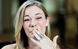Leann Rimes Broke Into Tears