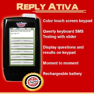 Wireless Voting Keypads