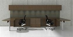 Modular 2 Person Desk