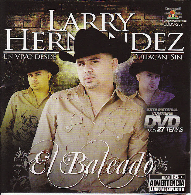 Larry Hernandez - En Vivo En Culiacan CD - Album 2009