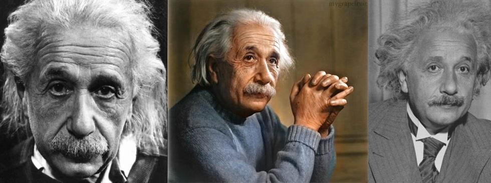 Albert Einstein. Poeta de la física y filósofo. 160 de Coeficiente intelectual. Vegetariano.
