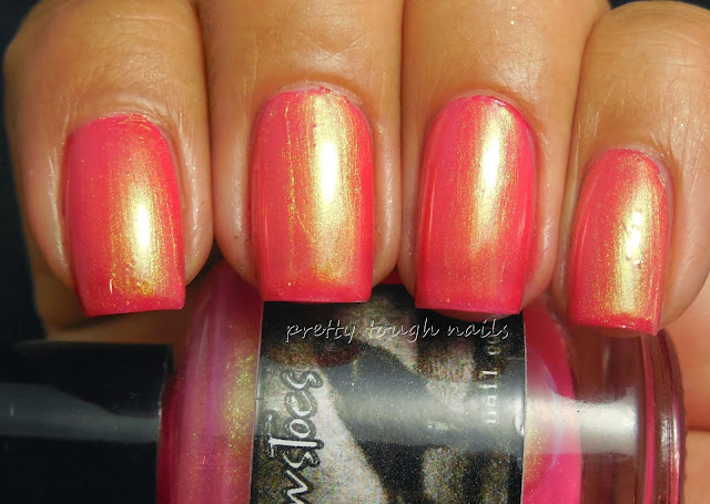 Crowtoes Tequila Sunrise Over Revlon Jelly