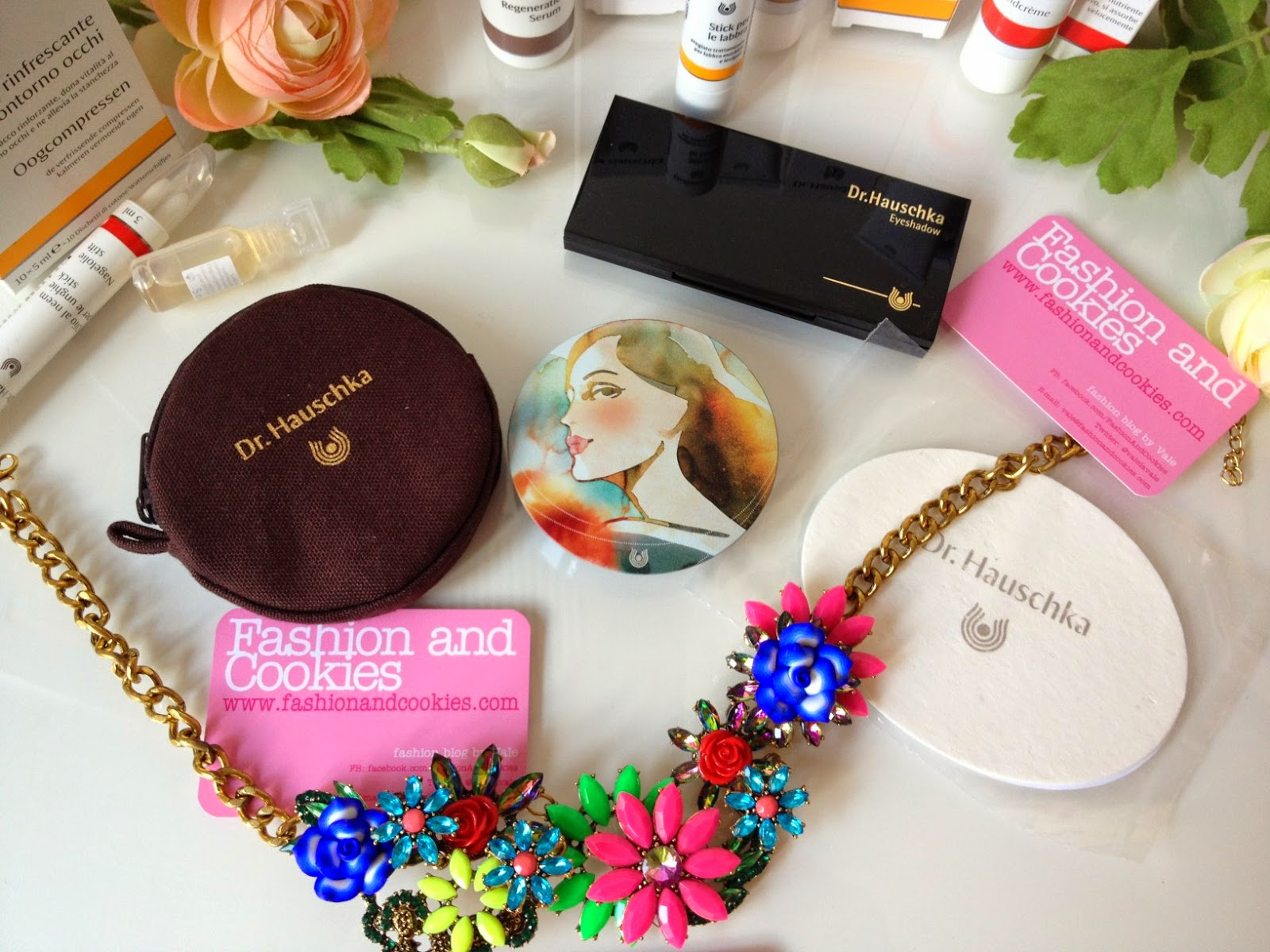 Dr Hauschka beauty and skincare haul, Dr Hauschka bronzing powder beautiful packaging, limited edition tina berning, Fashion and Cookies, fashion blogger