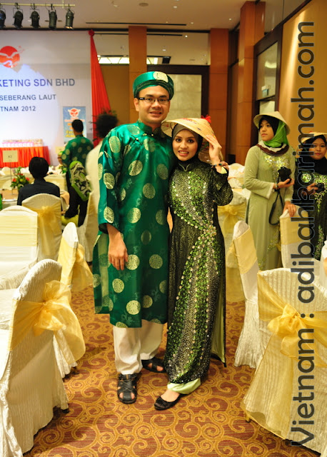 free trip to vietnam from hai-o for premium beautiful top agents in gala dinner with husband