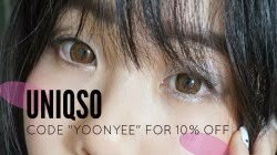 "Use code ""yoonyee"" for 10% off"
