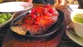 Ikan Bakar saung Gawir