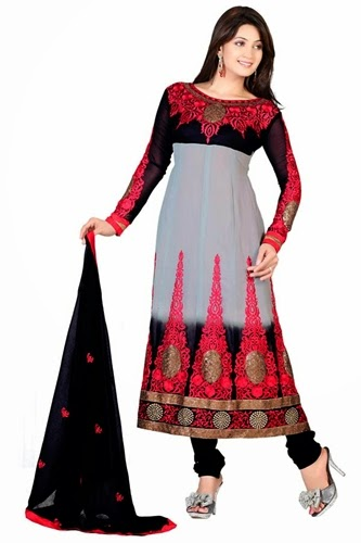 Anarkali Frocks Dresses 2014