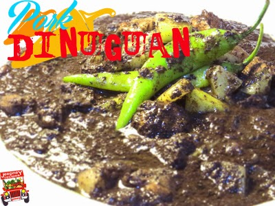 Pork Dinuguan with Sayote