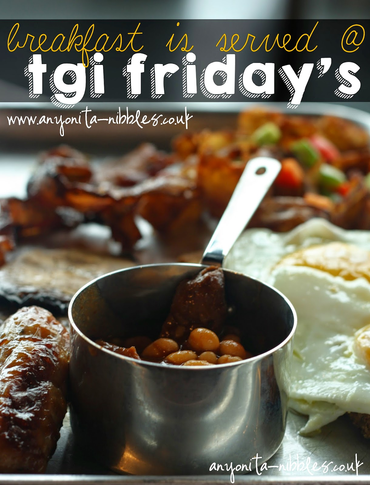 A review of the new breakfast menu at TGI Friday's at Manchester's new Fast Track train station restaurant | Anyonita-nibbles.co.uk