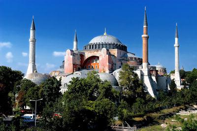 Ciudad de Hagia, Sofía en Estambul, Turquía. - Turkey