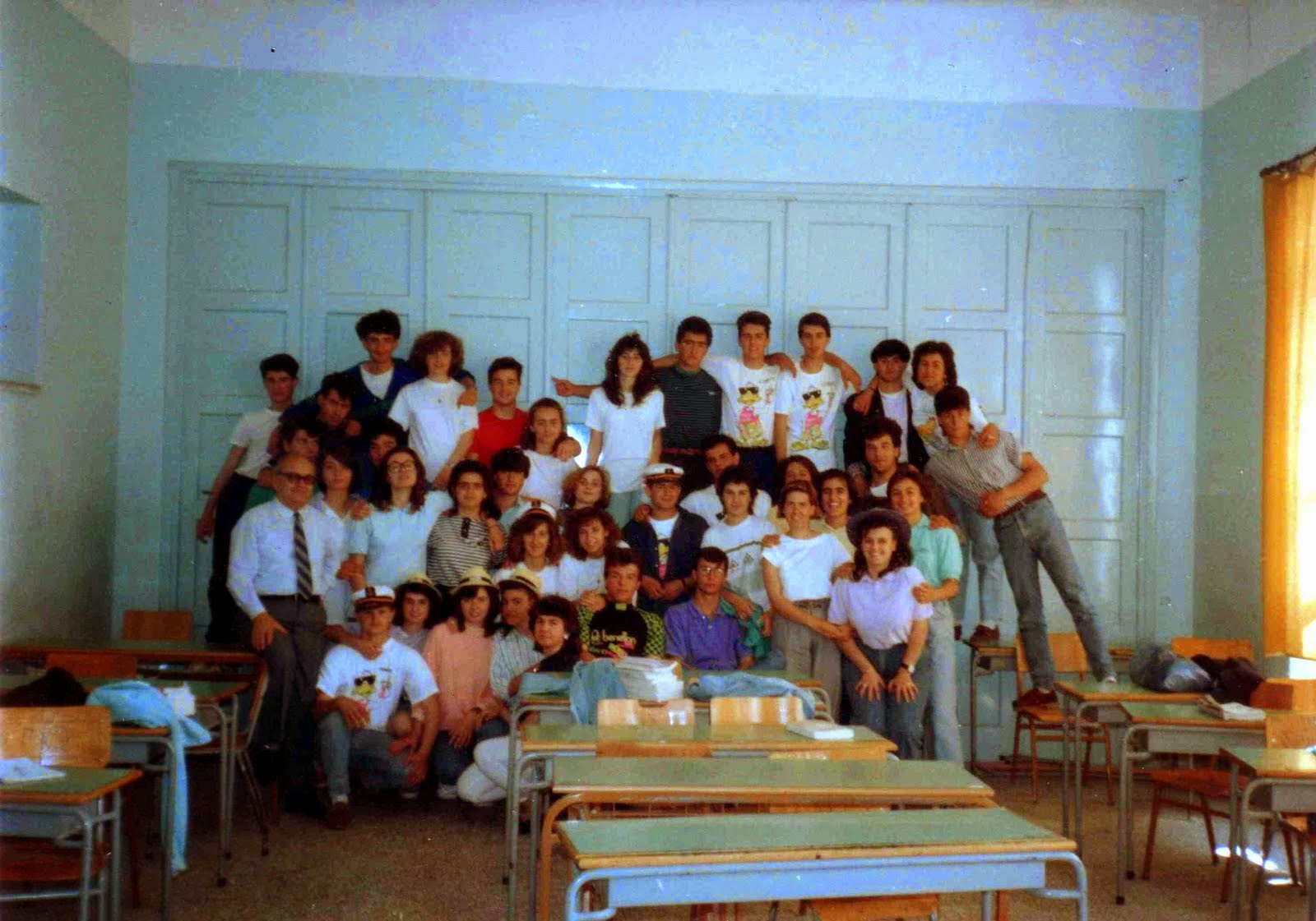 ΤΕΛΕΙΟΦΟΙΤΟΙ  1989 - 1990