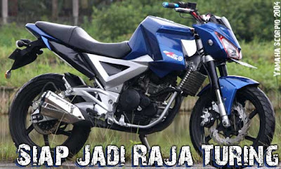 yamaha scorpio modif street fighter