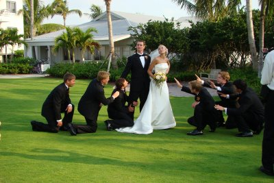Funny Wedding Poses