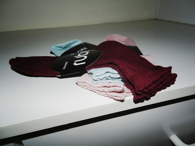 burgundy socks, pastel, rubi shoes