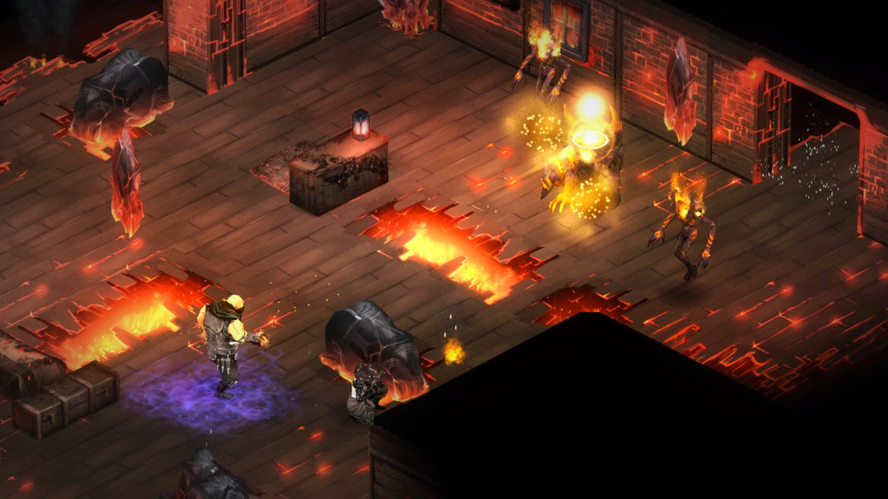 Shadowrun Dragonfall – Director's Cut gameplay
