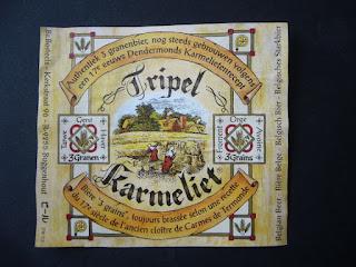 ancestral belgian beer Tripel Karmeliet