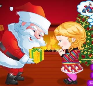 Juego de vestir a la mina para ver a Santa Claus