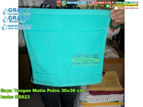 Sapu Tangan Mutia Polos 30x30 Cm