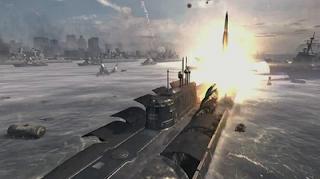 Missile MW3 submarine