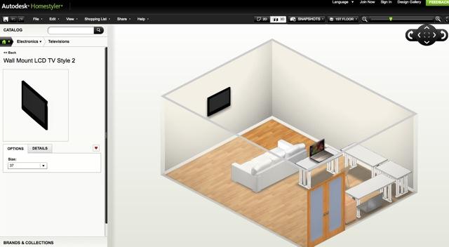 Progettazione Casa Programma : Autodesk homestyler il miglior programma gratuito per arredare la