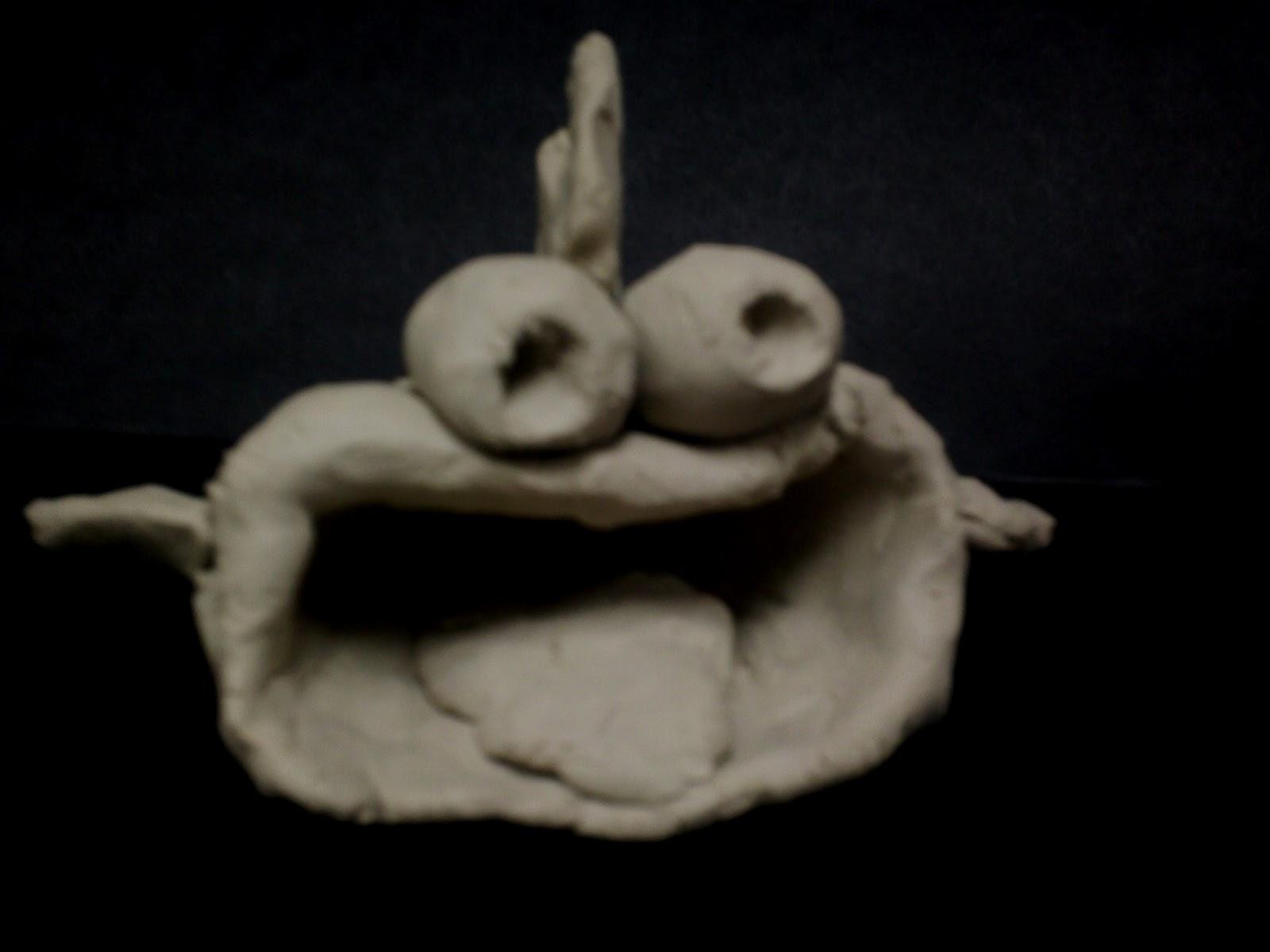 art with mr e clay pinch pot fish 1st grade
