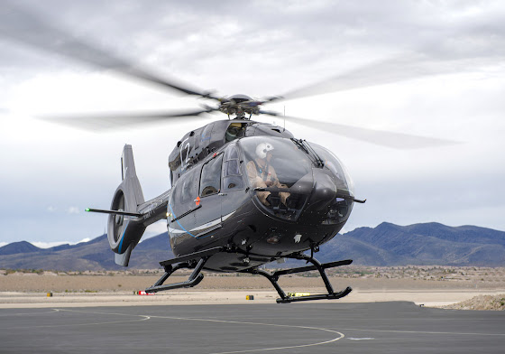 EC145T2 helicopter
