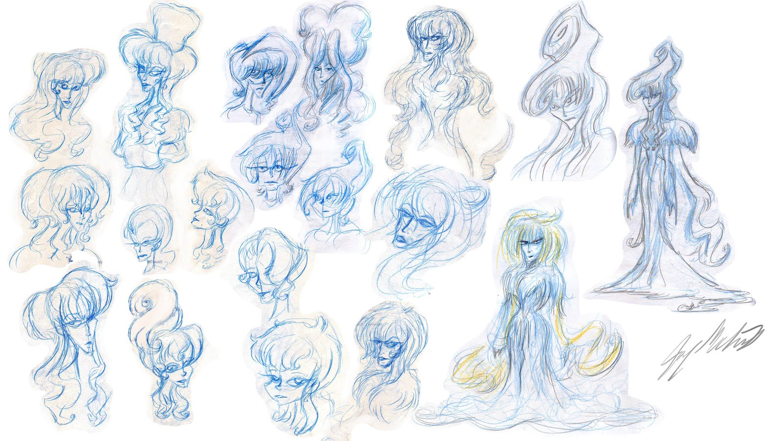 The Character Design Process : Joey mcinnis scribblins snow woman character design process