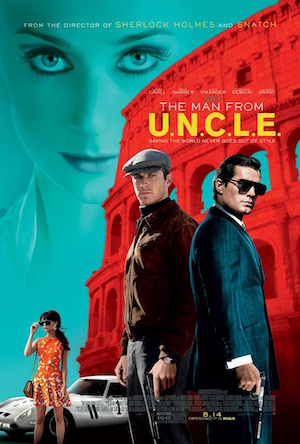 Poster The Man from U.N.C.L.E. 2015