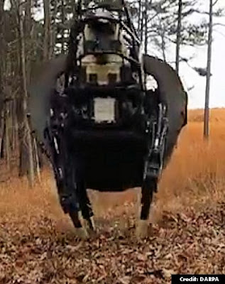 DARPA's Robot, LS3 Can Follow Troops into Battle