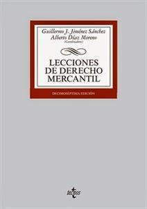 Lecciones de Derecho Mercantil. Manuales Técnicos Especializados de Derecho.