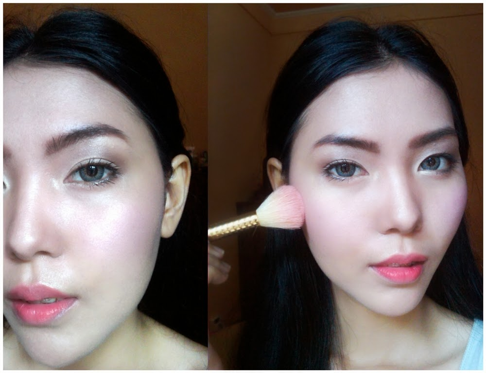 how to look glowing with makeup