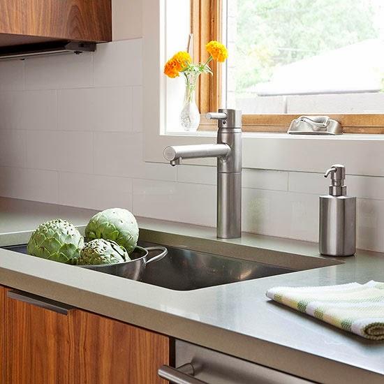 Kitchen Countertops Options: Modern Furniture: 2014 Stylish Stone Kitchen Countertop Ideas