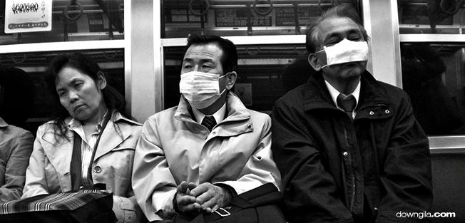 Suzuran japan surgical mask trend downgila