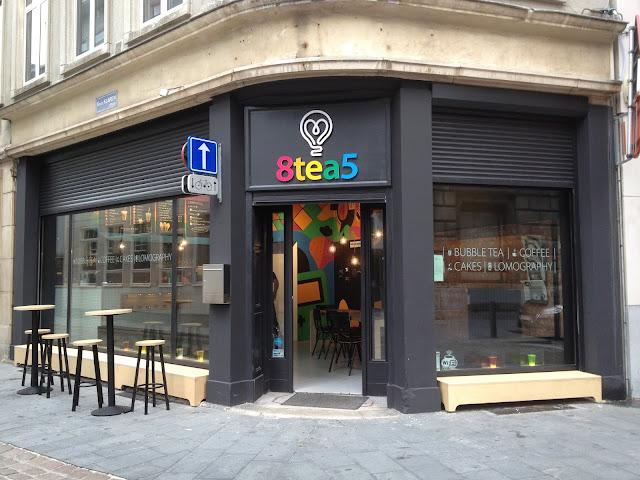 Bubble Tea 8Tea5 Antwerpen