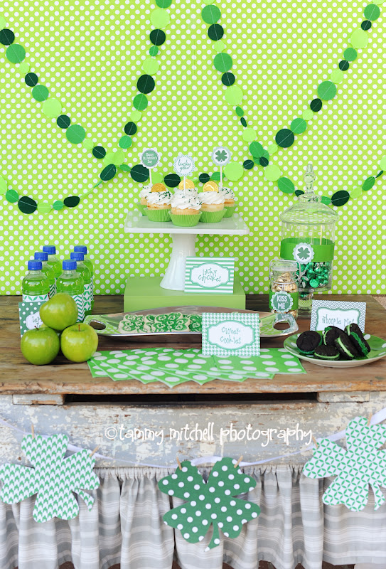 With St Patricks Day Right Around The Corner Im Excited To Showcase This Adorable ST PATRICKS DAY BIRTHDAY PARTY Submitted By TammyMitchell Of Tammy