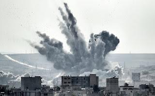 Serangan udara AS di kobane