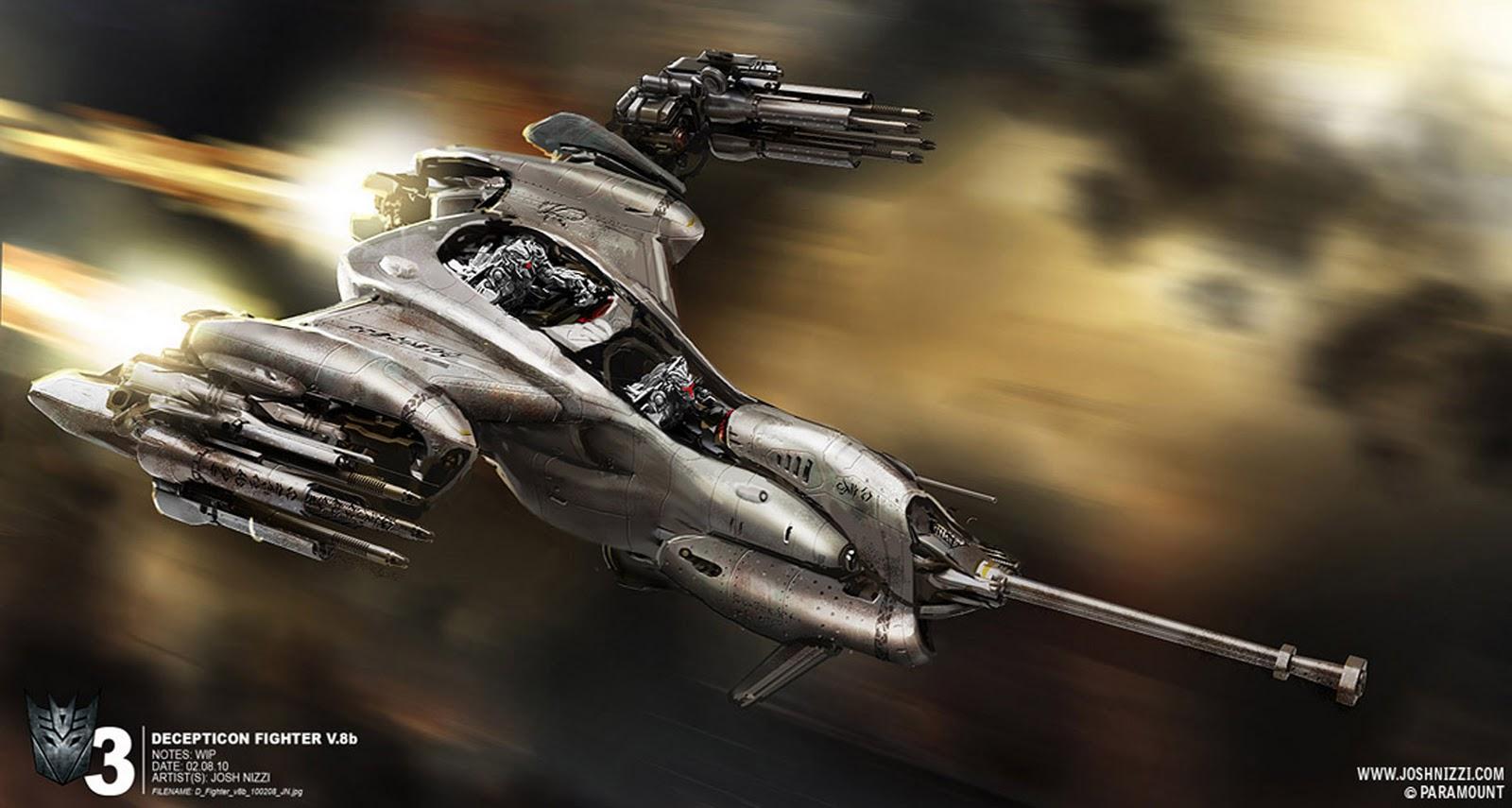 Transformer Spaceship