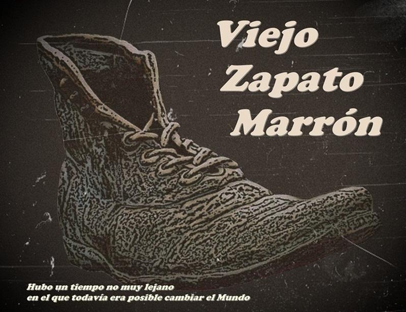 Viejo zapato marron