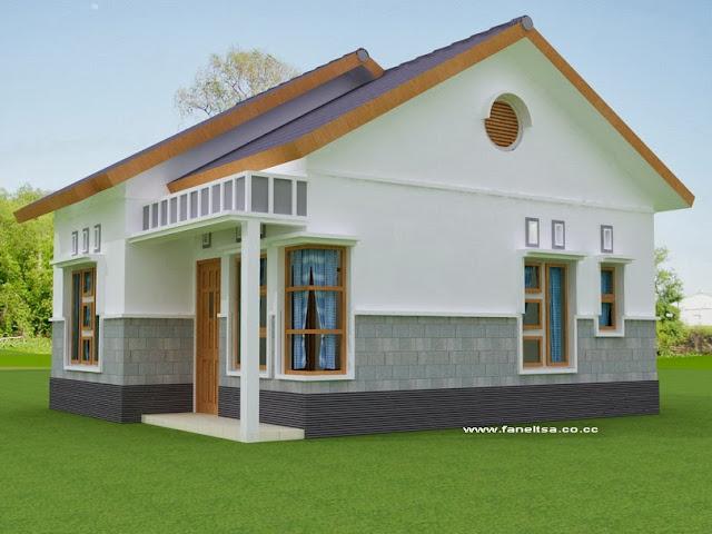 Gambar Samping Model Rumah Minimalis Sederhana